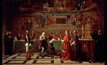 'Galileu diante do Santo Ofício', quadro de Joseph-Nicolas Robert-Fleury (Wikimedia)