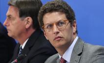 Ricardo Salles é considerado um dos piores ministros do Meio Ambiente da história (Marcos Corrêa/PR)