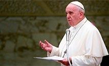 'Comunicar encontrando as pessoas como e onde estão' é o subtítulo. (AFP/Vatican Pool)