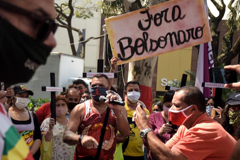 26º Grito dos Excluídos em defesa da vida, realizado Praça Osvaldo Cruz, na Avenida Paulista, na manhã do dia 7 de Setembro