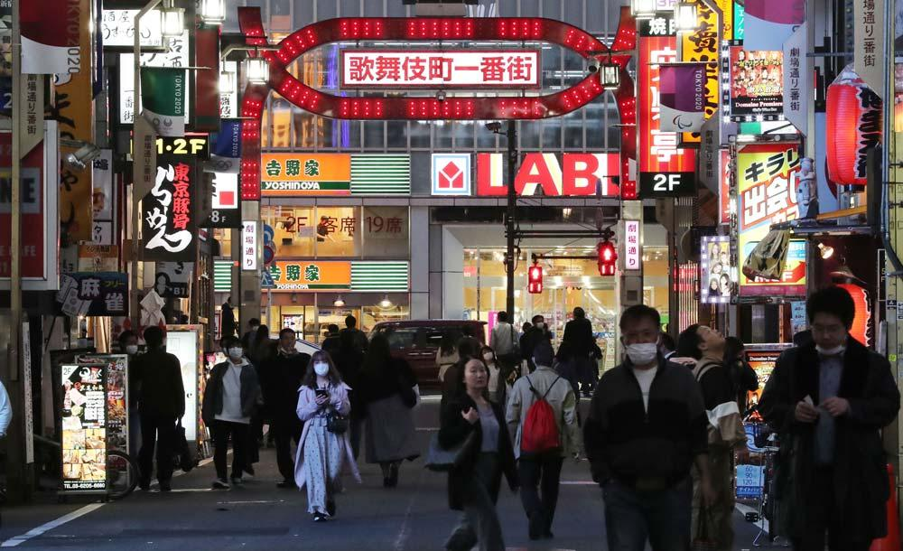 Distrito de Kabukicho, em Tóquio, onde se passa parte da trama de 'Favela high-tech'