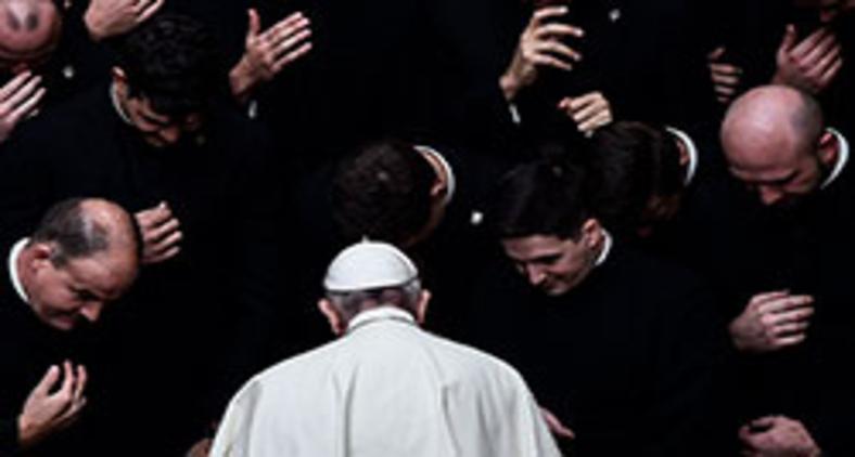 Francisco cumpre uma das mais audaciosas reformas da cúria romana já vistas (Filippo Monteforte/AFP)