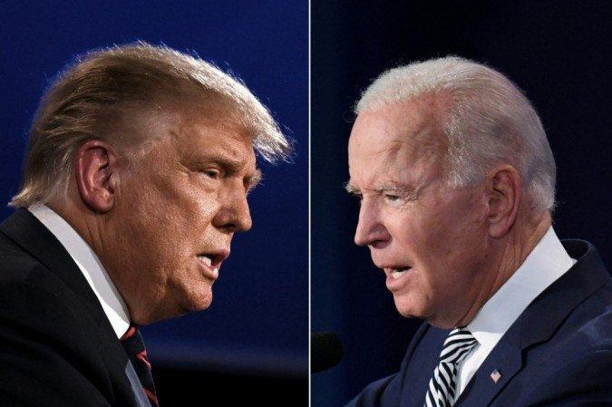 Democratas decidiram que Biden também não participaria após recusa de Trump
