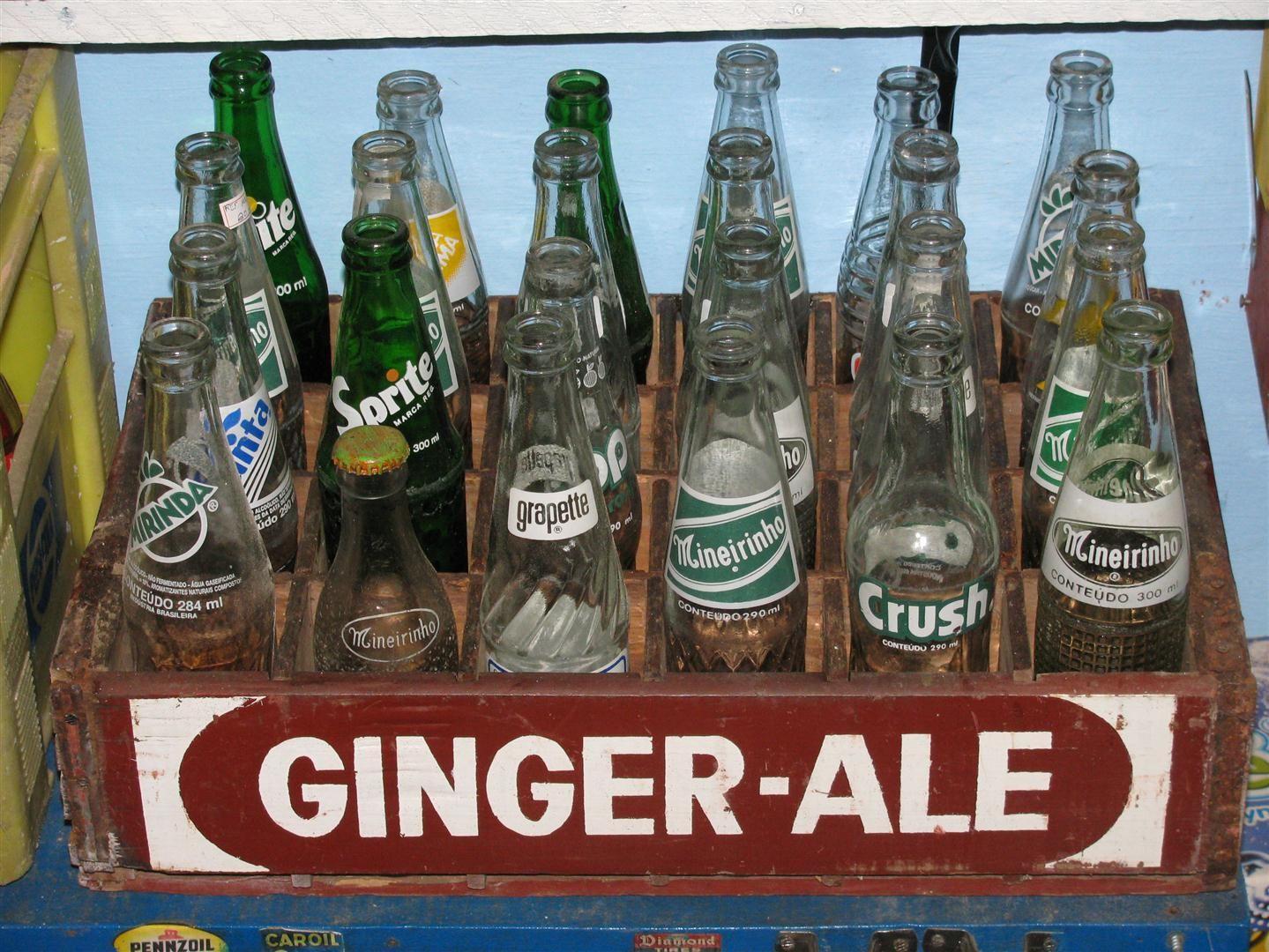 Queria uma Ginger Ale ou uma Cerejinha gelada para aplacar minha sede de tempos melhores