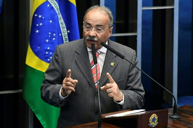 (Arquivo) O senador Chico Rodrigues foi alvo na quarta-feira de uma busca em sua casa de Boa Vista, capital do estado de Roraima (norte), do qual é representante