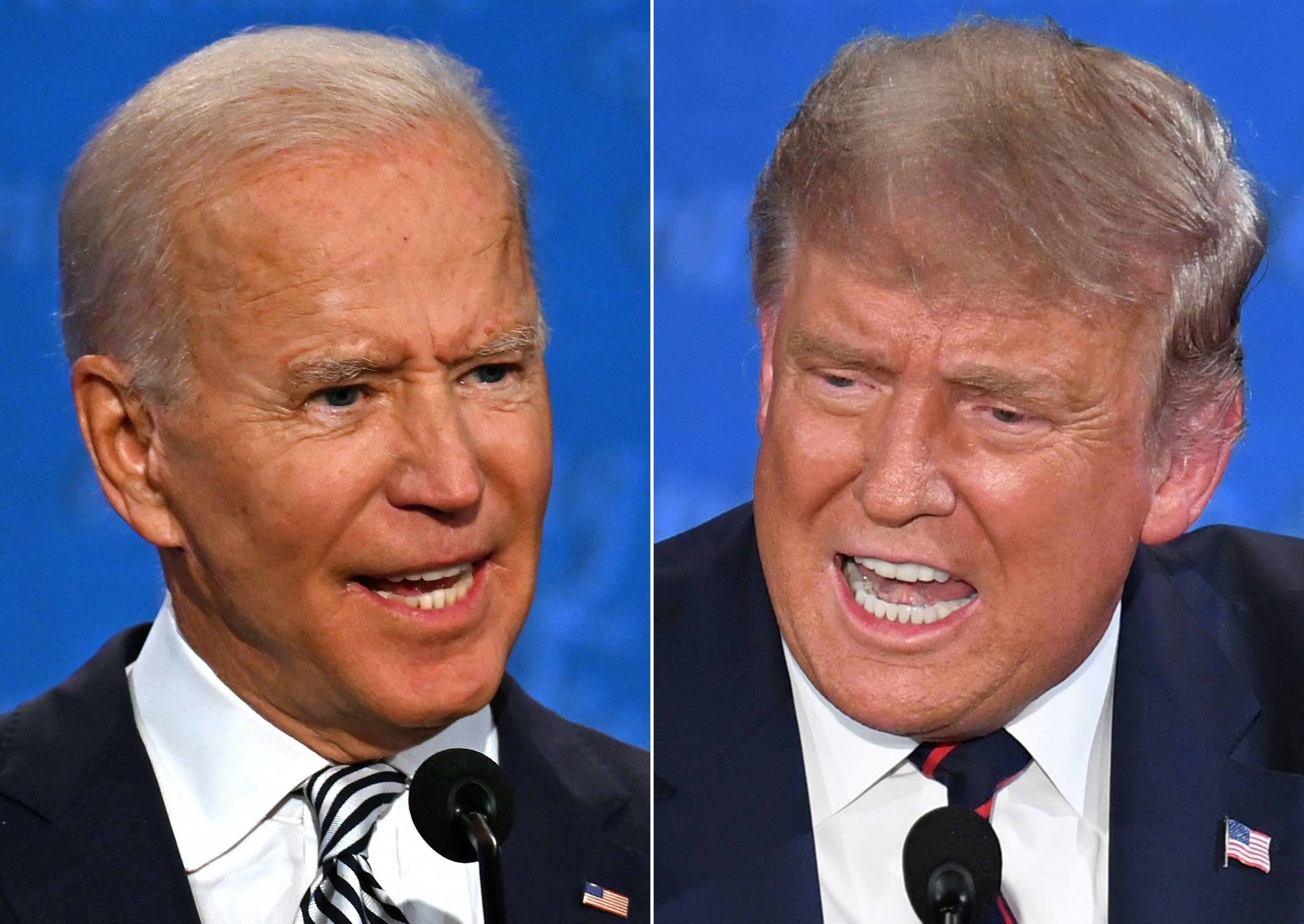 Biden tem conquistado votos em estados em que Trump venceu em 2016