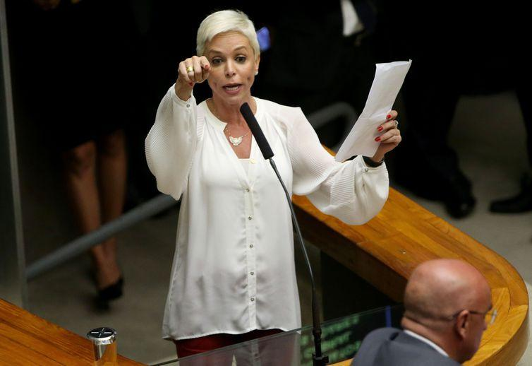 Ex-deputada Cristiane Brasil é filha do presidente do PTB, Roberto Jefferson
