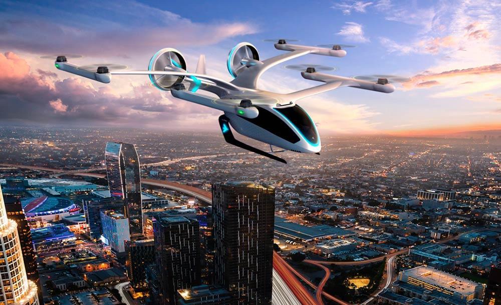 O eVTOL já passou pelos testes de simuladores (semelhantes aos feitos na aeronaves)