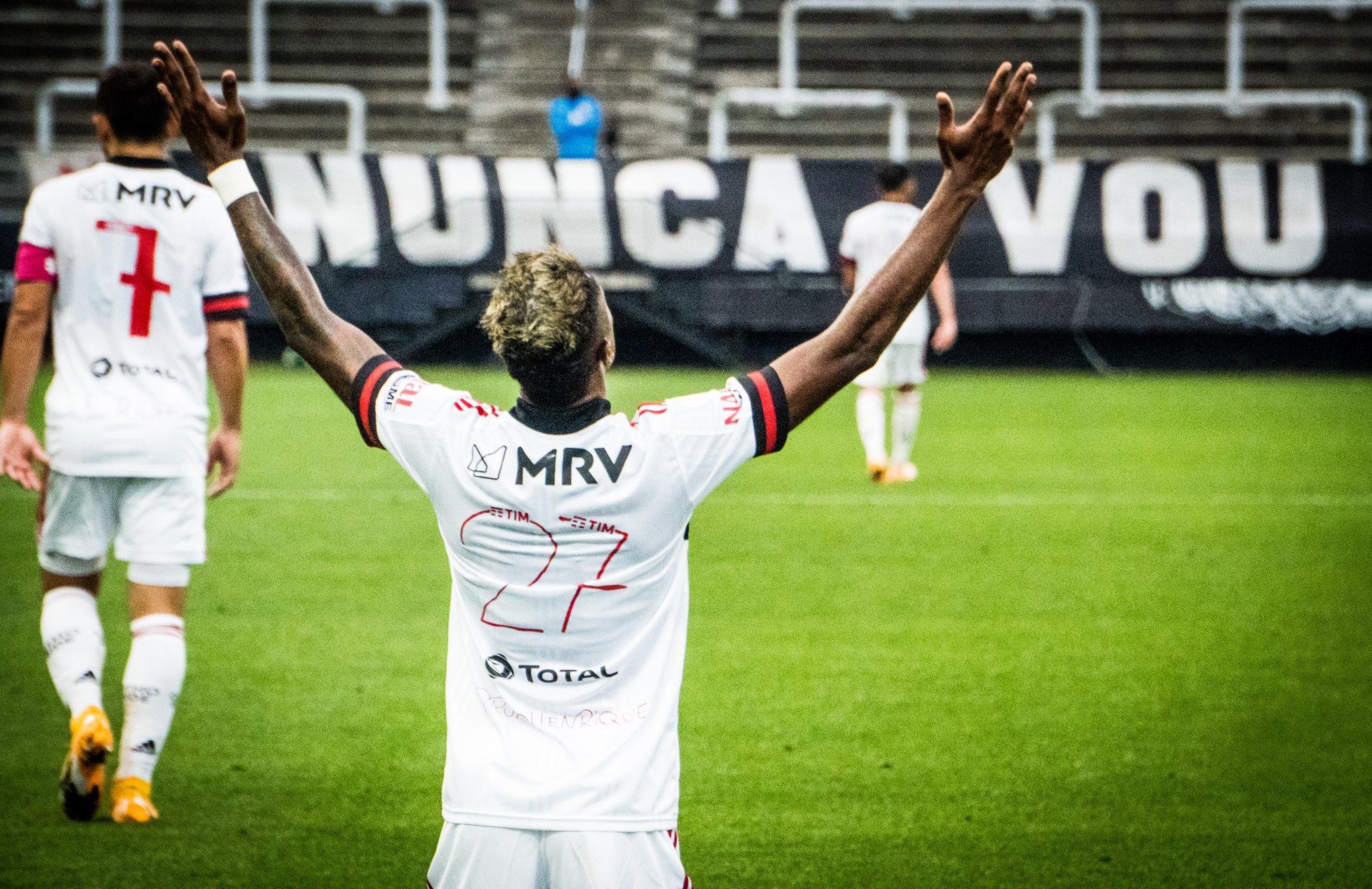 Flamengo chegou a 34 pontos