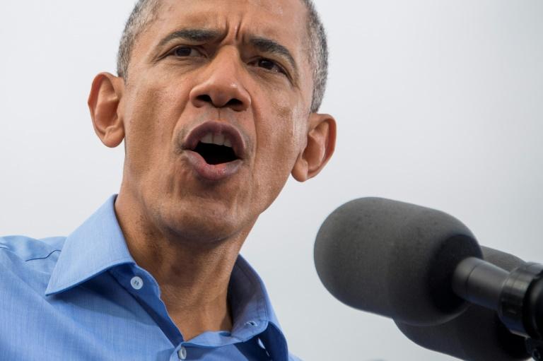 Barack Obama fala em campanha presidencial de Hillary Clinton em 2016