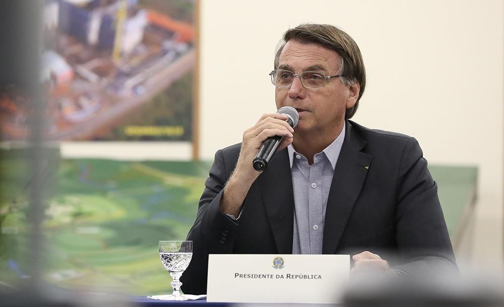 Bolsonaro reforçou seu posicionamento de uma possível vacina ser opcional.