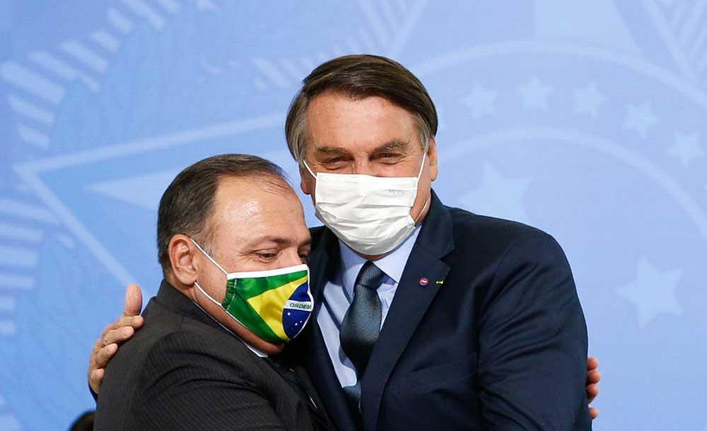 Pazuello, que é o 12º ministro a contrair a doença