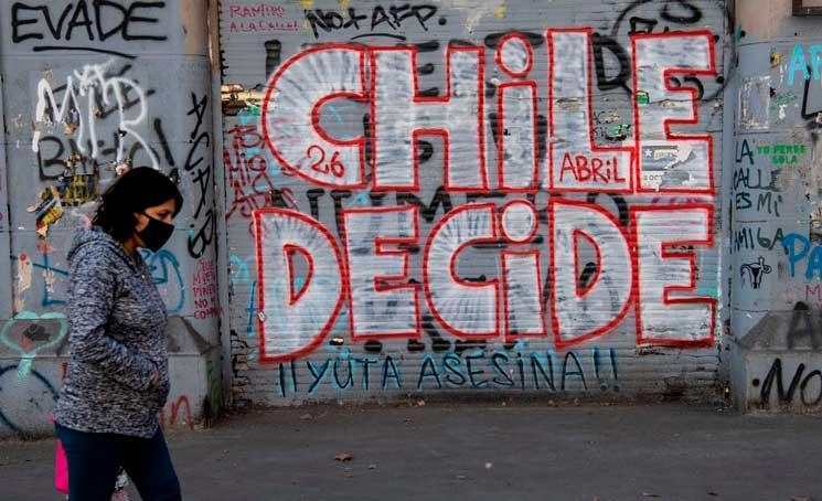 A participação no referendo histórico será fator decisivo para os próximos passos políticos no Chile