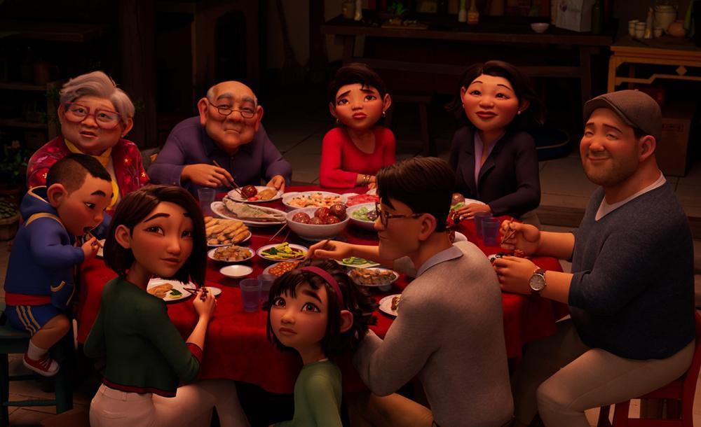Como evento presente na família chinesa, as refeições juntas se tornaram base para os primeiros conflitos vividos por Fei Fei, a personagem principal