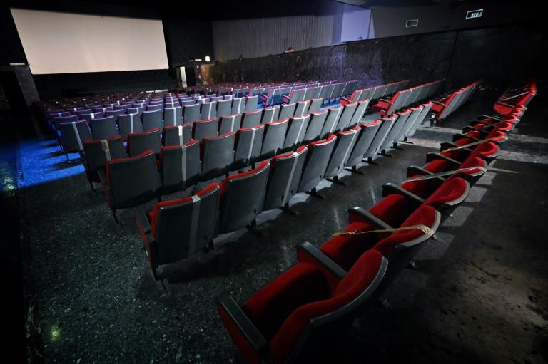 Sala de cinema em Roma, Itália