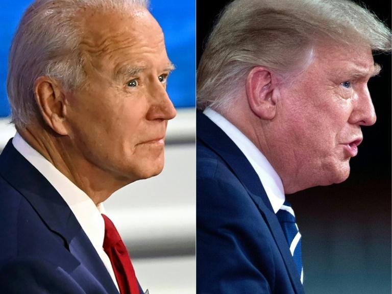 O presidente republicano segue um ritmo frenético de campanha enquanto Biden mantém uma baixa intensidade