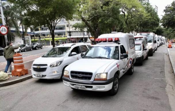 32 ambulâncias foram acionadas às 12h, no entorno do Largo do Arouche