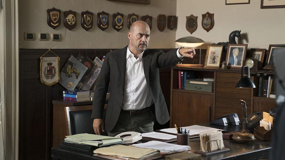 Cena da 12ª temporada de 'Il commissario Montalbano', com Luca Zingaretti no papel principal