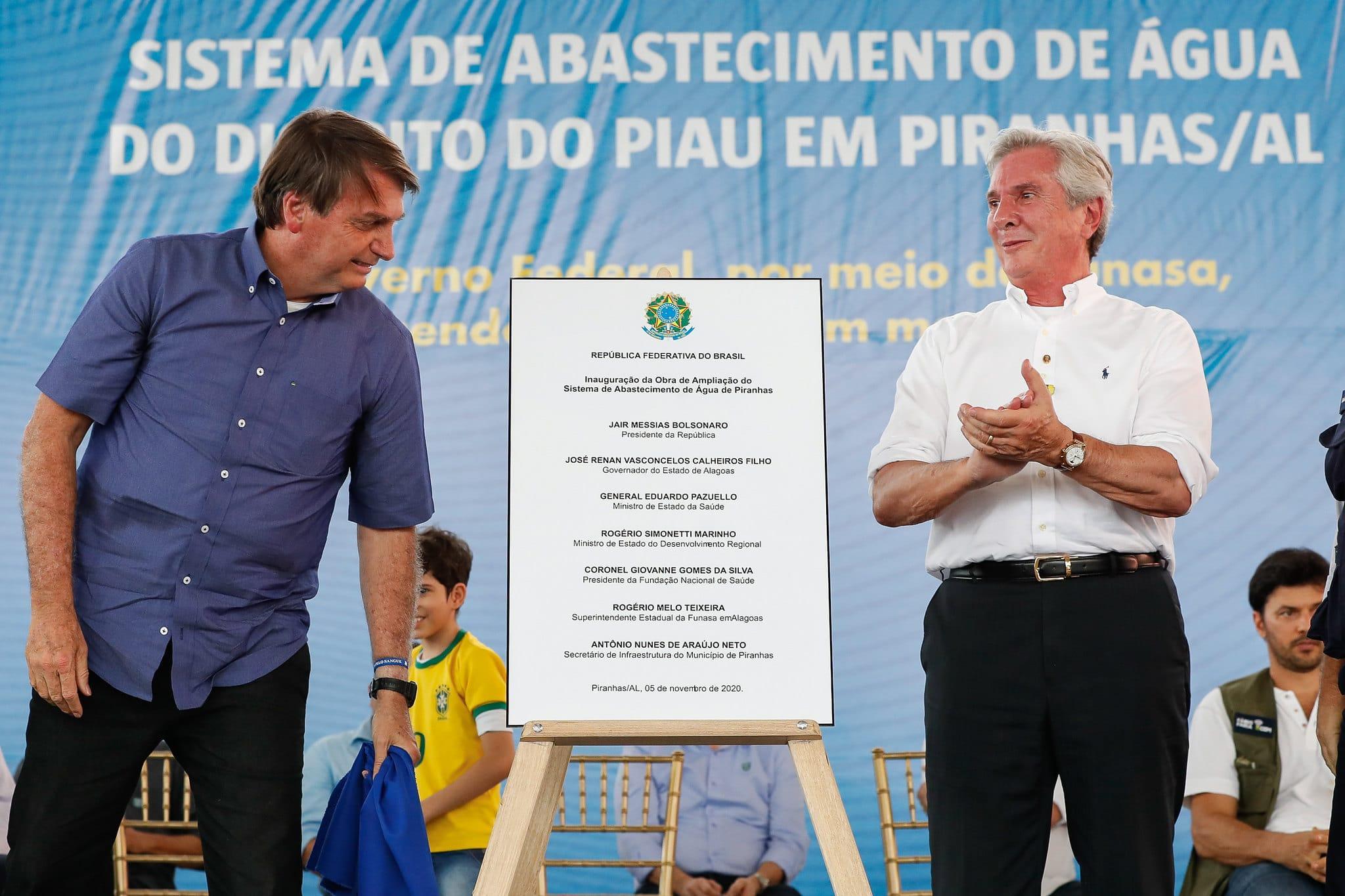 Fernando Collor é um 'homem que luta pelo interesse do Brasil', elogia  Bolsonaro