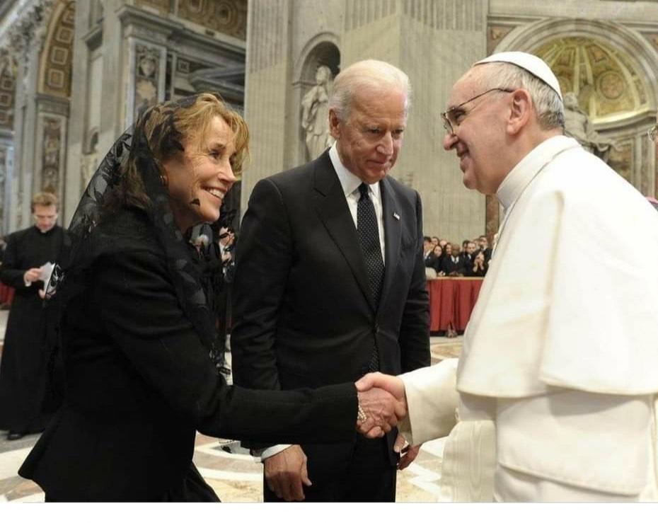 Biden em audiência com Papa Francisco