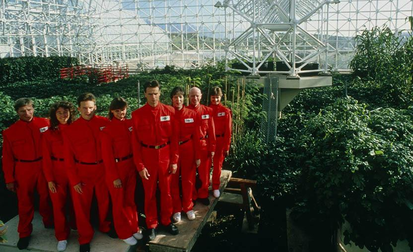 O diretor Matt Wolf acredita que a história da Biosfera 2 serve como lição para hoje