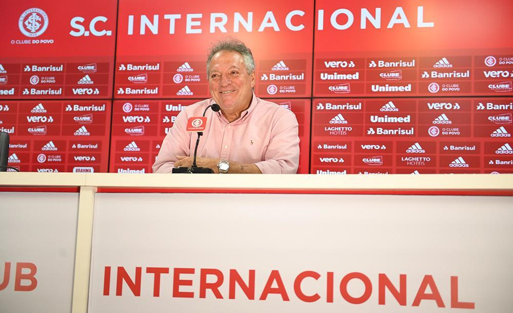 Esta é a sétima passagem de Abel Braga pelo Internacional