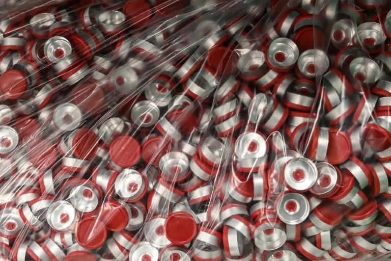 Fábrica de embalagem da vacina experimental AstraZeneca/Oxford da firma Catalent