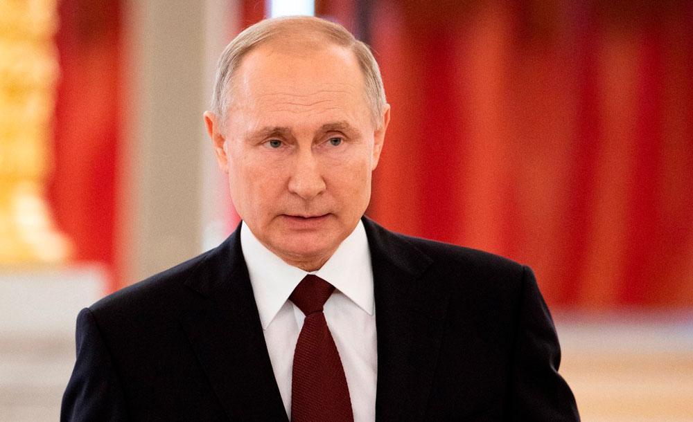 O presidente russo Vladimir Putin mantém boas relações com Trump