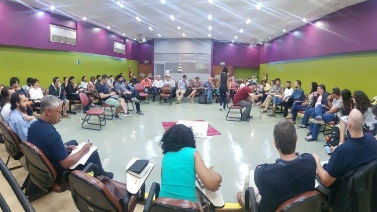 Reunião para a 'Economia de Francisco' no Brasil