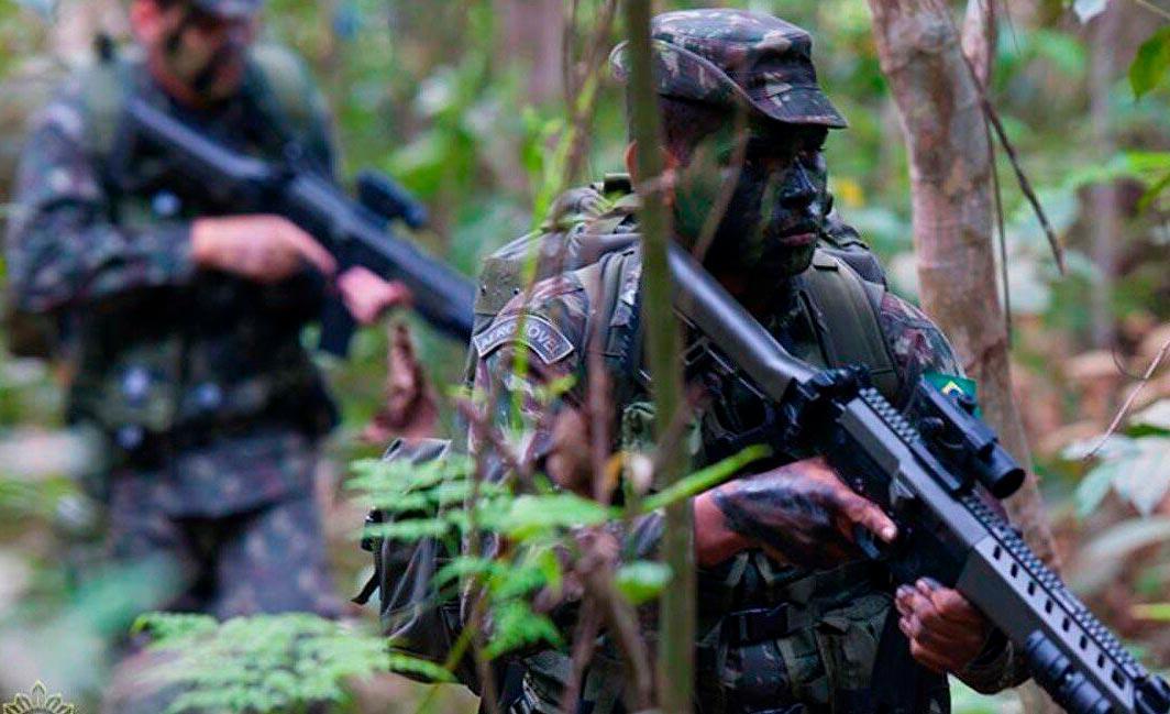 Efetivo na Operação Verde Brasil 2 é de 3,4 mil militares