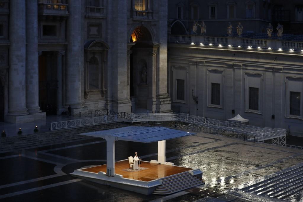 Papa Francisco na bênção Urbi et Orbi