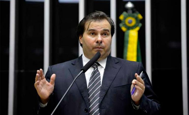 O presidente da Câmara dos Deputados Rodrigo Maia articula alianças para 2022