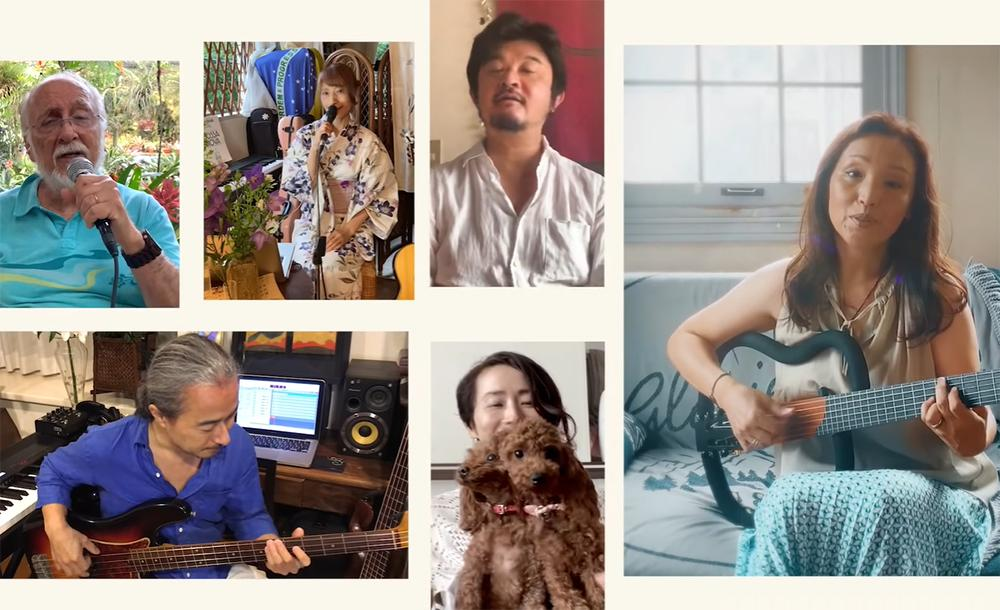 O vídeo, que tem produção do baterista Kazuo Yoshida, demorou três meses para ficar pronto