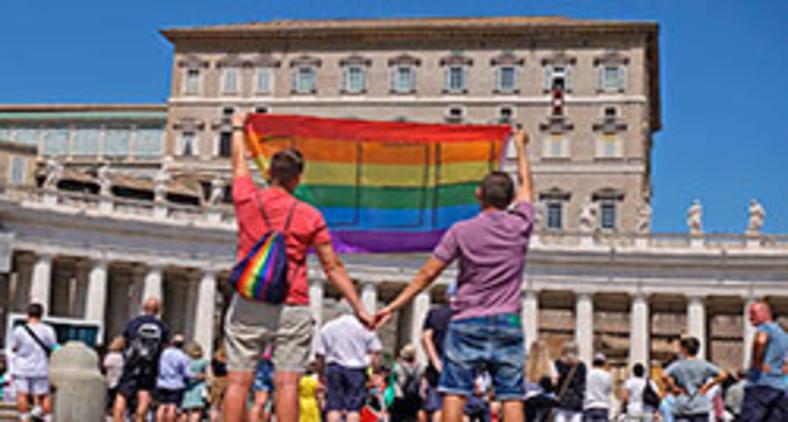 Casal gay polonês pediu socorro ao papa (Facebook/Jakub i Dawid/DaKu Press)