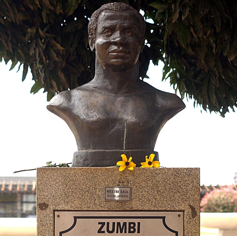 Busto de Zumbi dos Palmares em Brasília