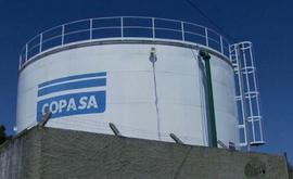 O juiz condenou a Copasa a pagar a compensação por danos morais, no importe de R$ 20 mil (Divulgação/Copasa)