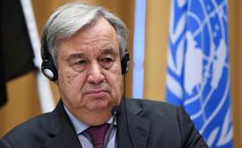 O secretário-geral da ONU, António Guterres, pede que se 'conserte' o planeta ante aquecimento global (Jonathan Nackstrand/AFP)