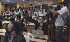 Documentário do Globoplay acompanhou 63 profissionais do jornalismo em 5 cidades brasileiras (Divulgação/Globoplay)