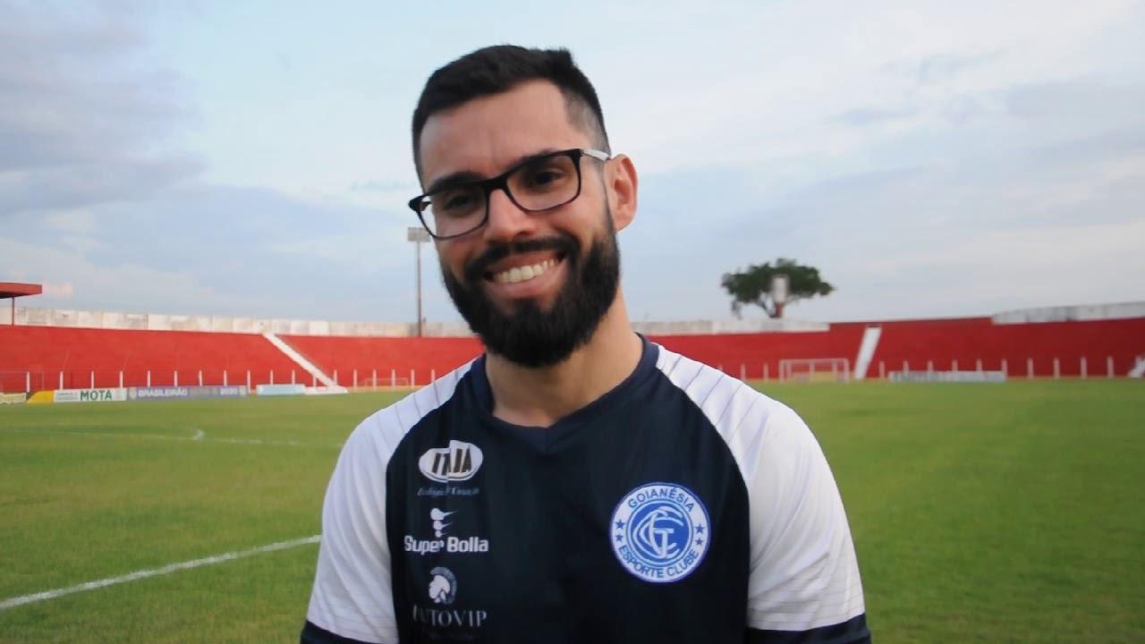 Aos 28 anos, Luan Carlos Neto comanda o Goianésia-GO na Série D