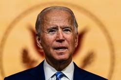 O presidente eleito dos Estados Unidos, Joe Biden, durante um discurso, em 26 de novembro de 2020 (Chandan KHANNA/afp)