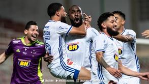 Rafael Sobis e Manoel marcaram os gols do Cruzeiro na partida (Bruno Haddad/ Cruzeiro)