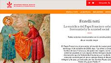 Site está disponível em italiano, inglês e espanhol, mas inclui vários recursos em francês, português, árabe ou chinês (Reprodução)