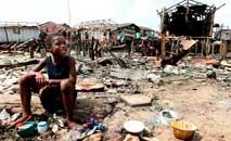 Na Nigéria, pais mais populoso da África, pandemia pode afetar milhões (Pius Utomi EkpeiI/AFP)