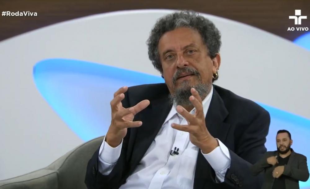 Entrevista com o ex-marqueteiro do PT, João Santana, no programa 'Roda Viva'