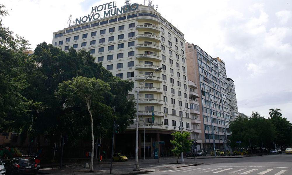 Antigo Hotel Novo Mundo, no Rio de Janeiro