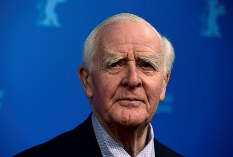 O autor britânico John Le Carré