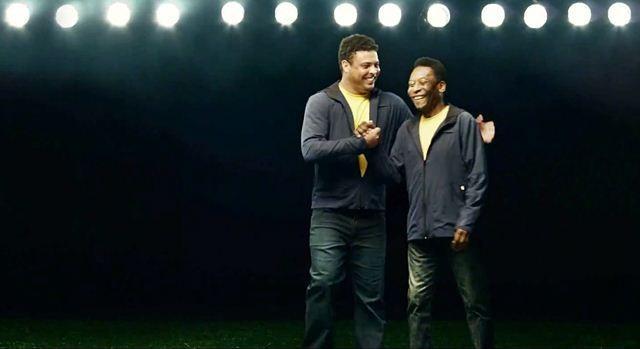 Além de Ronaldo e Pelé (foto), time dos sonhos tem o lateral Cafu