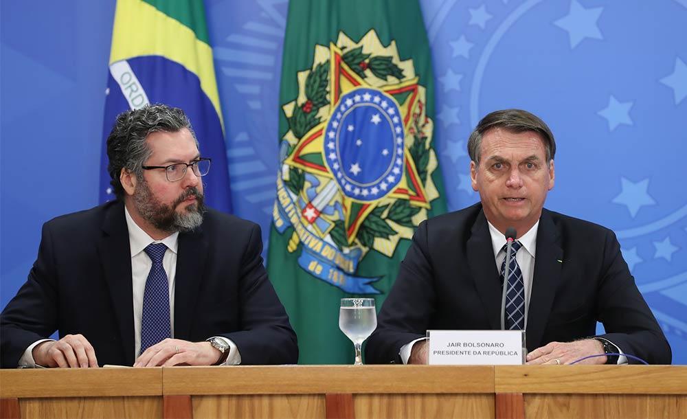 Diplomacia brasileira foi jogada num isolamento nunca visto desde a redemocratização