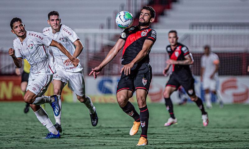 ACG X Fluminense - partida válida pela vigésima sexta rodada do Campeonato Brasileiro Série A 2020