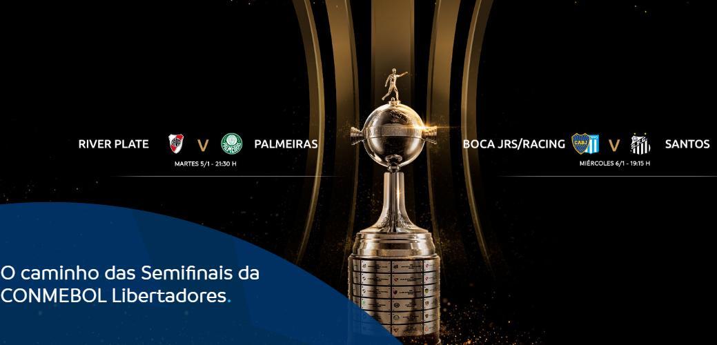 Brasileiros e argentinos disputam o título mais importante do continente